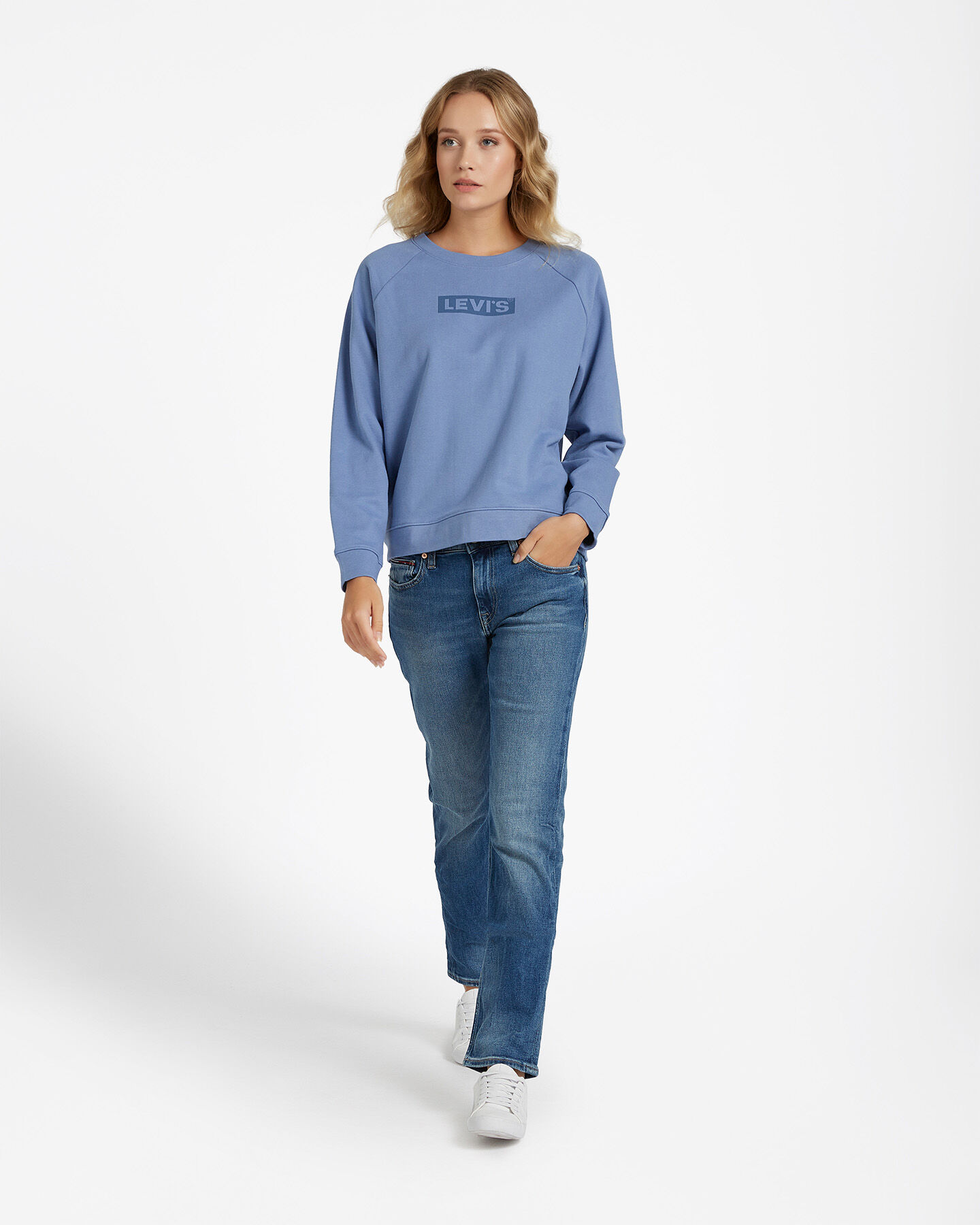 Felpa LEVI'S RELAXED GRAPHIC BOXTAB W S4083510 scatto 3
