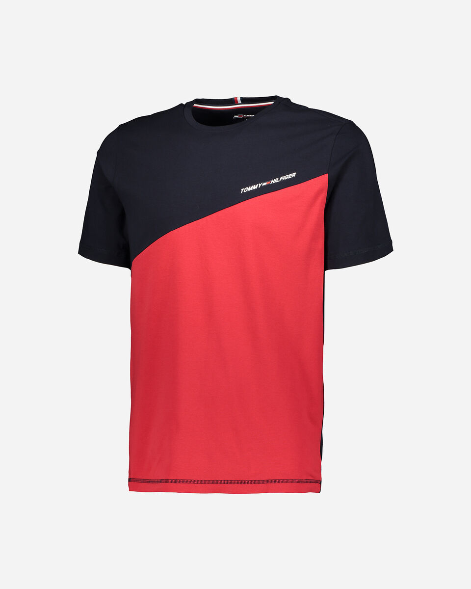 T-Shirt TOMMY HILFIGER COLOR M S4089504 scatto 5