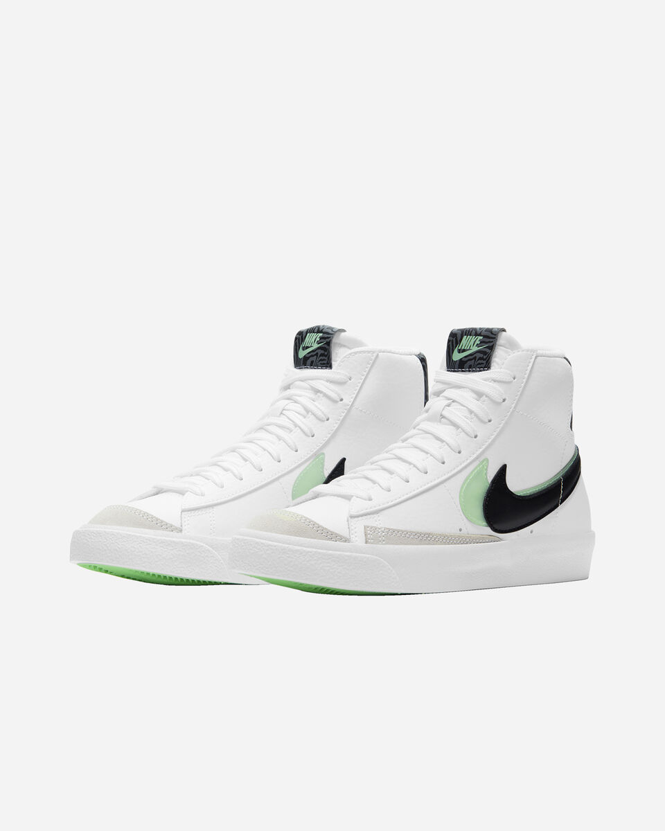 Scarpe sneakers NIKE BLAZER MID '77 SE JR GS S5270466 scatto 1