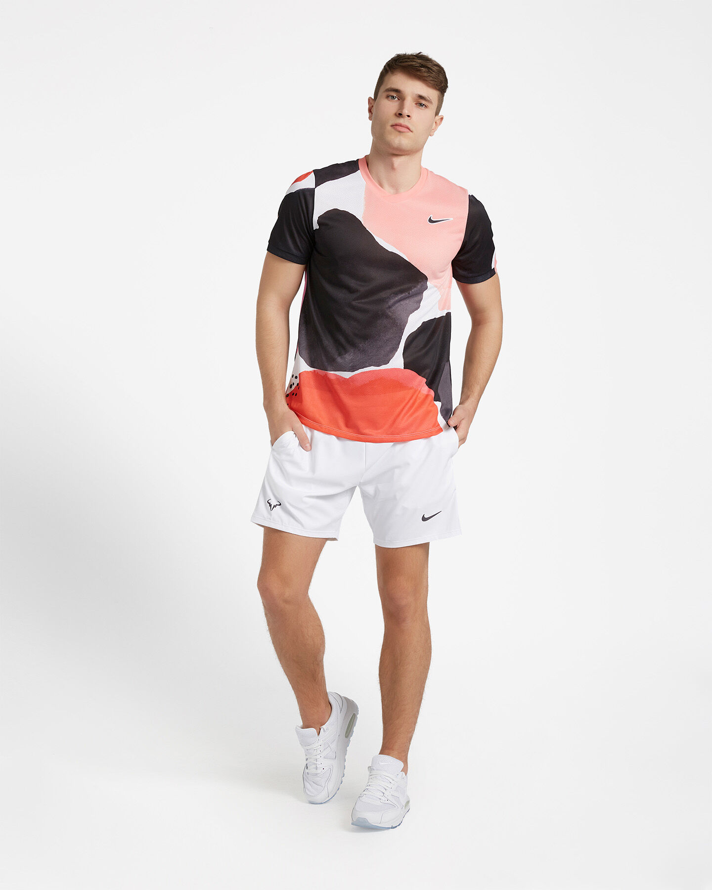 T-Shirt tennis NIKE COURT CHALLENGER M S5162982 scatto 1