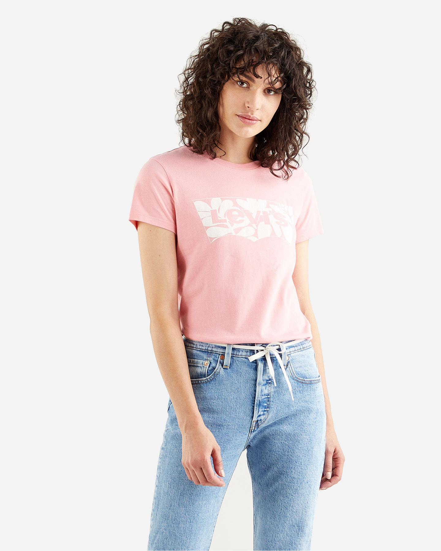 T-Shirt LEVI'S LOGO BATWING ST LEAF W S4088772 scatto 1