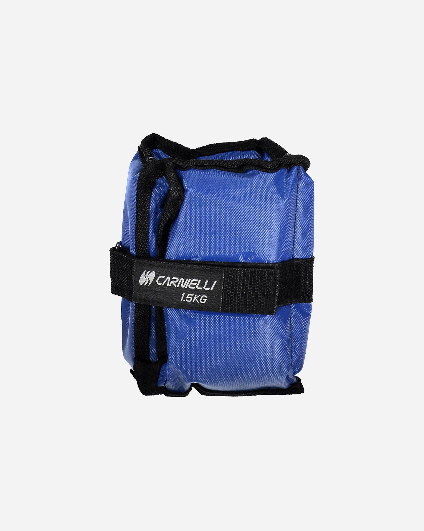 Accessorio pesistica CARNIELLI CAVIGLIERE 1,5 KG S1328745|1|UNI scatto 1