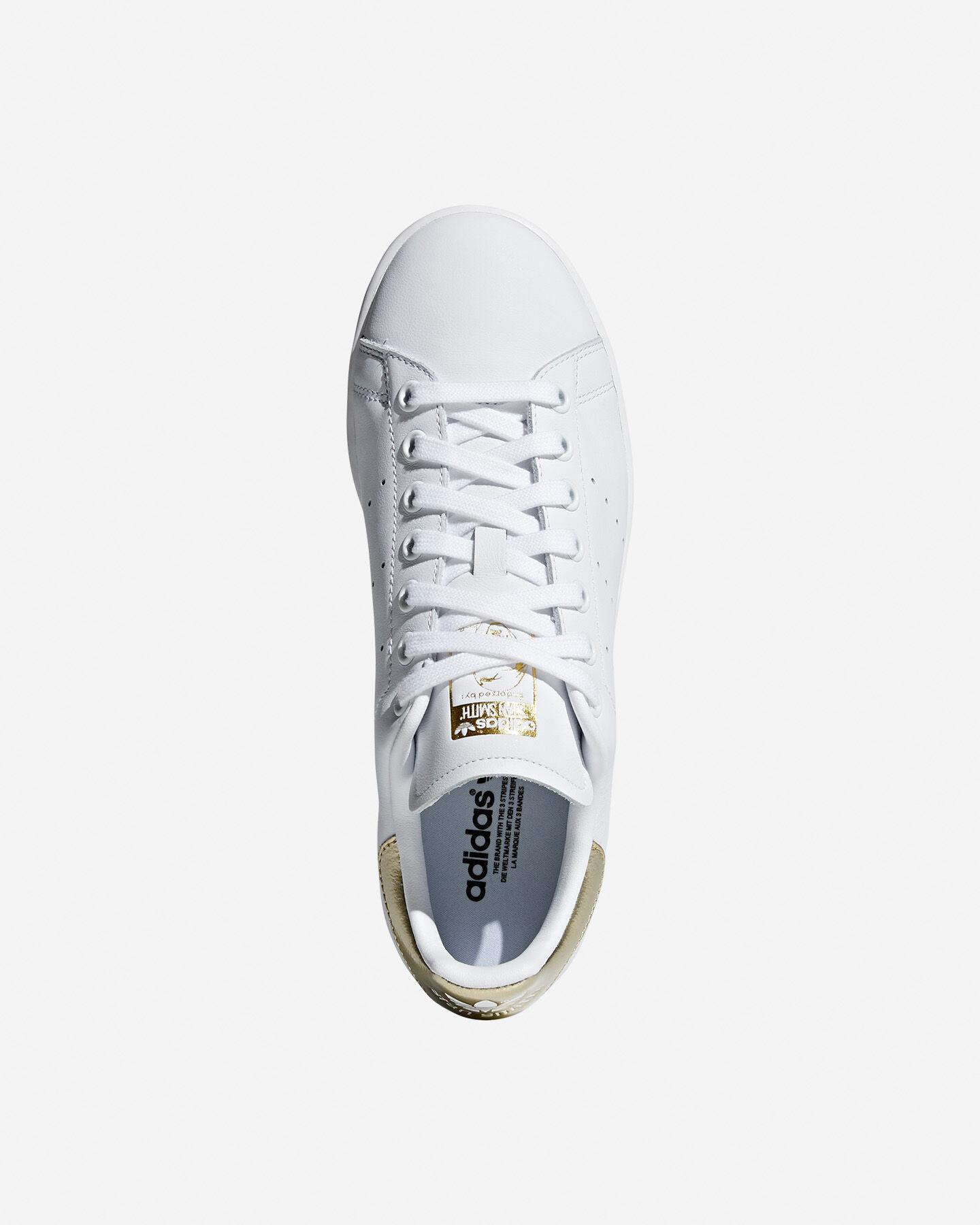 Scarpe sneakers ADIDAS STAN SMITH W S5092717 scatto 2