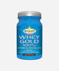 INTEGRATORI ALIMENTARI  ULTIMATE ITALIA WHEY GOLD 100% 450 GR