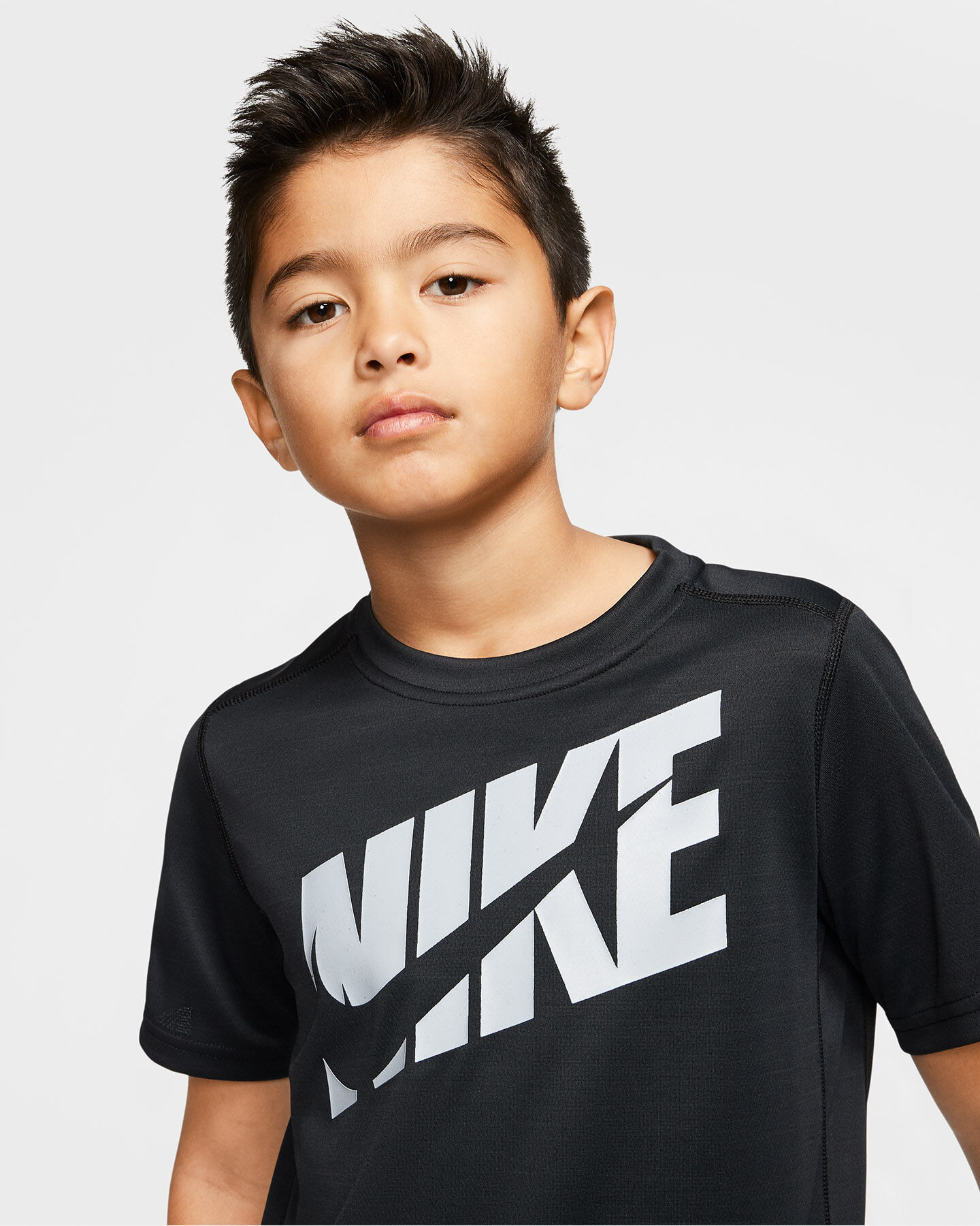 T-Shirt NIKE DRI-FIT SWOOSH JR S5164546 scatto 4