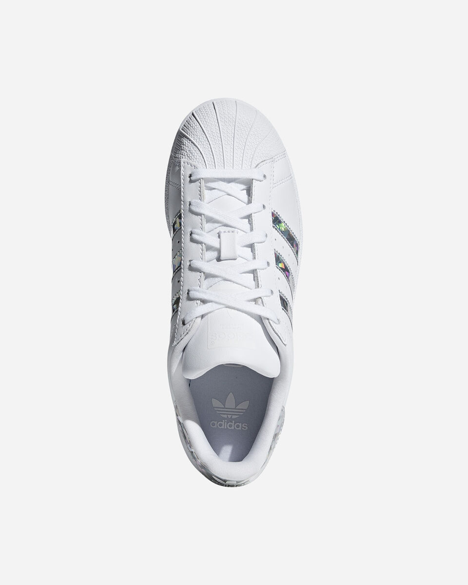 Scarpe sneakers ADIDAS SUPERSTAR GS JR S2015413 scatto 2