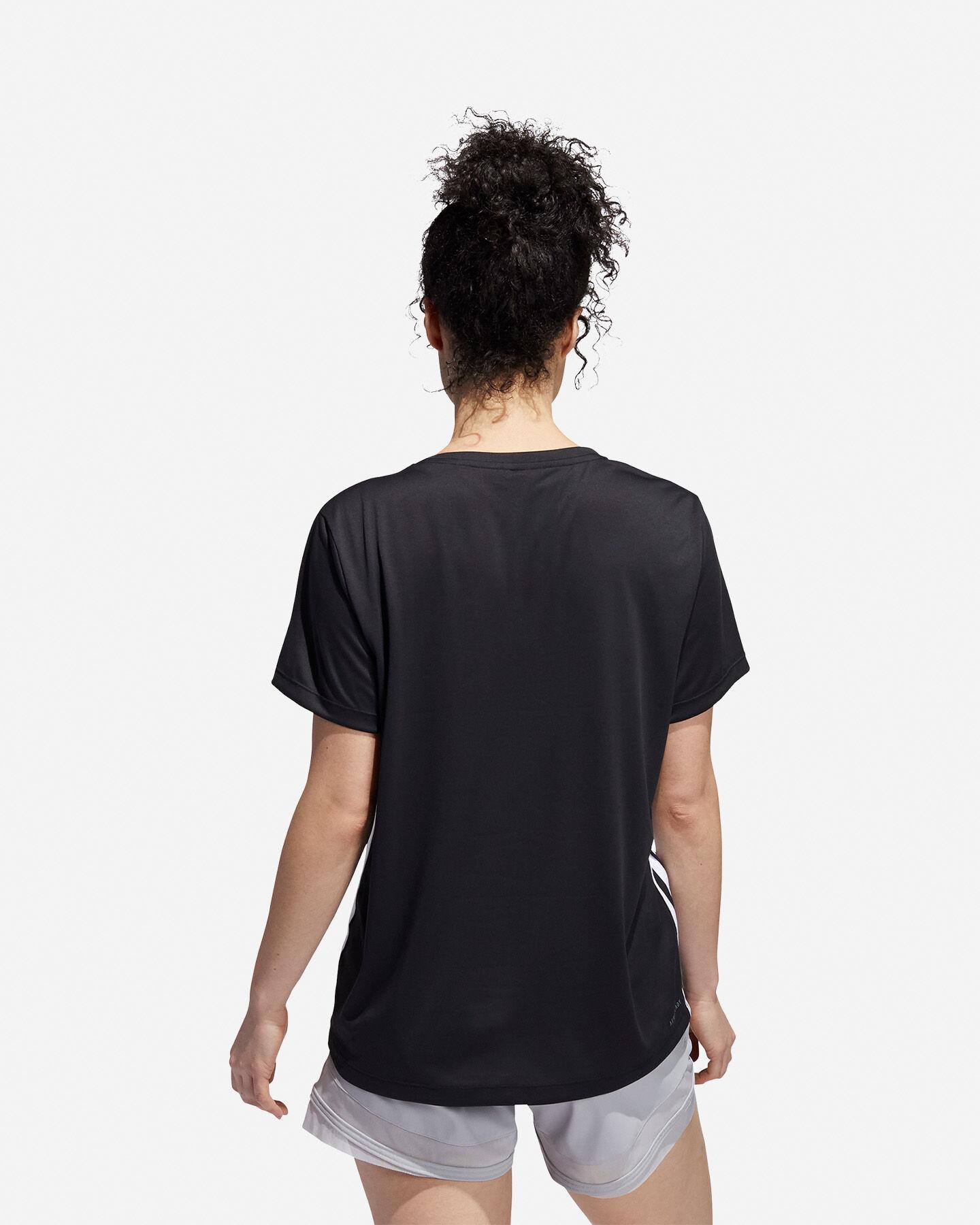 T-Shirt training ADIDAS 3 STRIPES W S5218163 scatto 4
