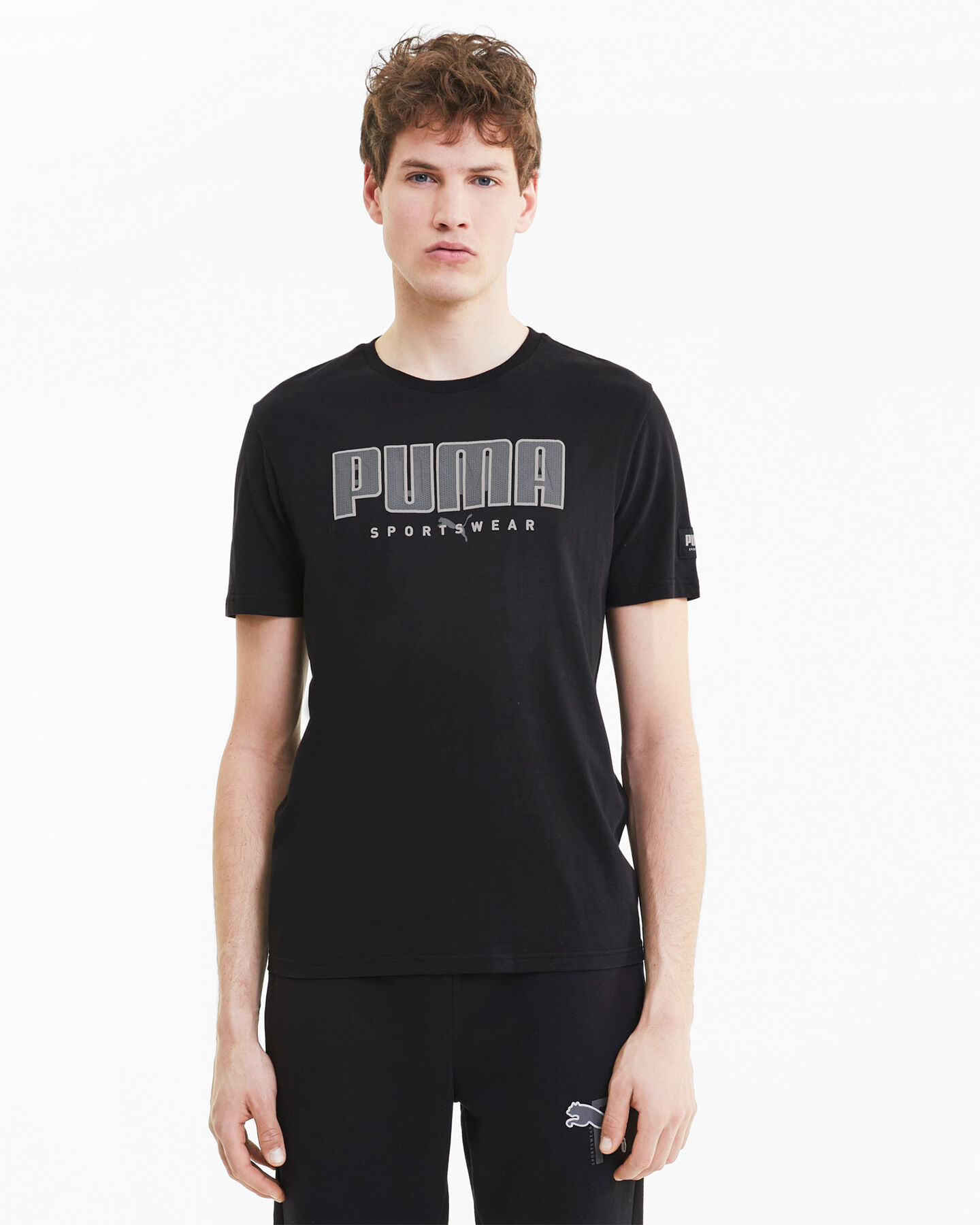 T-Shirt PUMA ATHTLETIC M S5235064 scatto 2