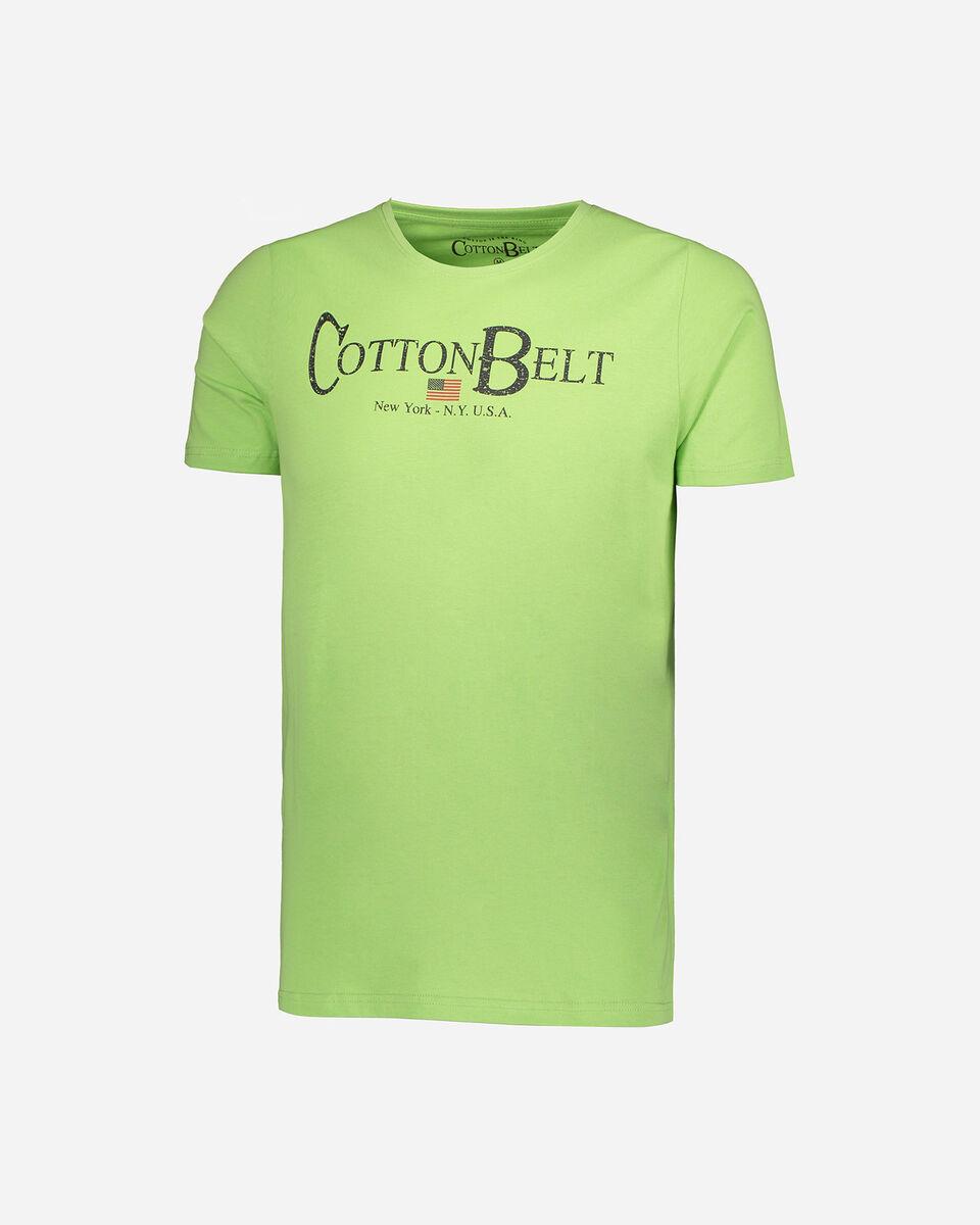 T-Shirt COTTON BELT LOGO M S5182776 scatto 0