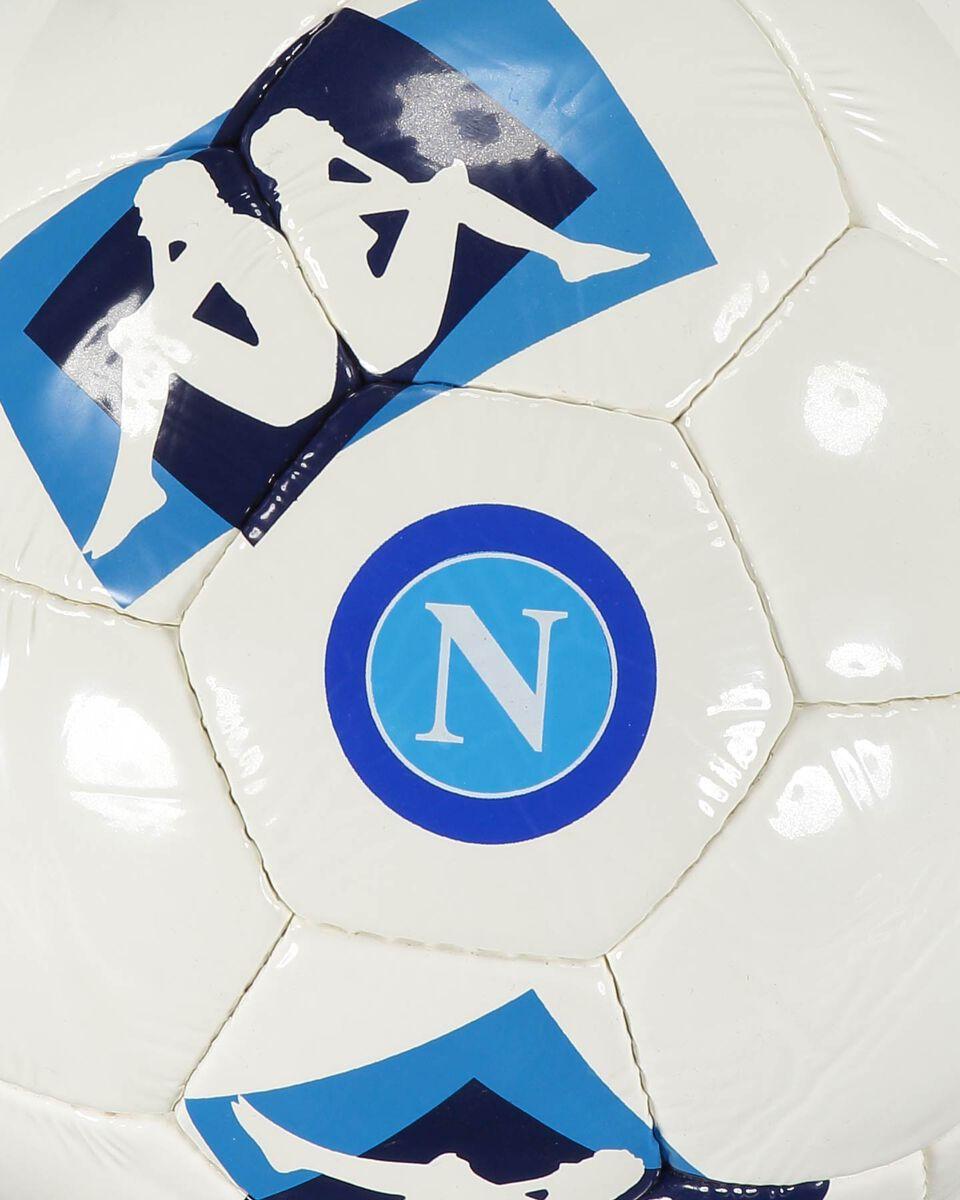 Pallone calcio KAPPA NAPOLI MIS 5 S4084268|A00|MIS.5 scatto 2