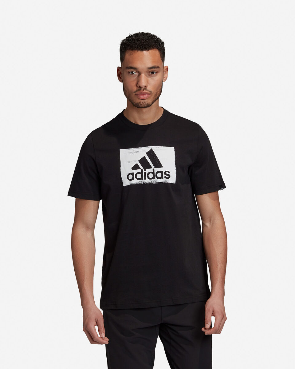 T-Shirt ADIDAS BRUSHSTROKE M S5211283 scatto 3