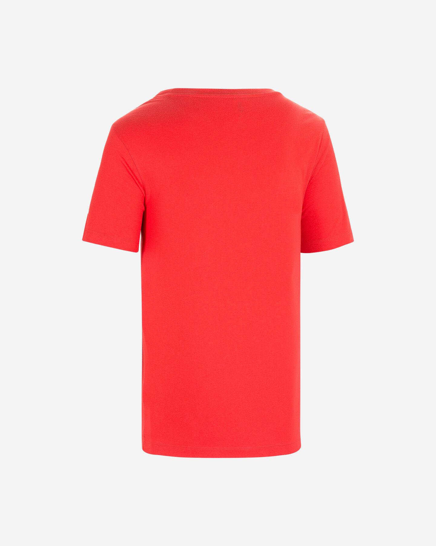 T-Shirt tennis WILSON T-SHIRT WILSON MBELA TECH RED M S5294969 scatto 1