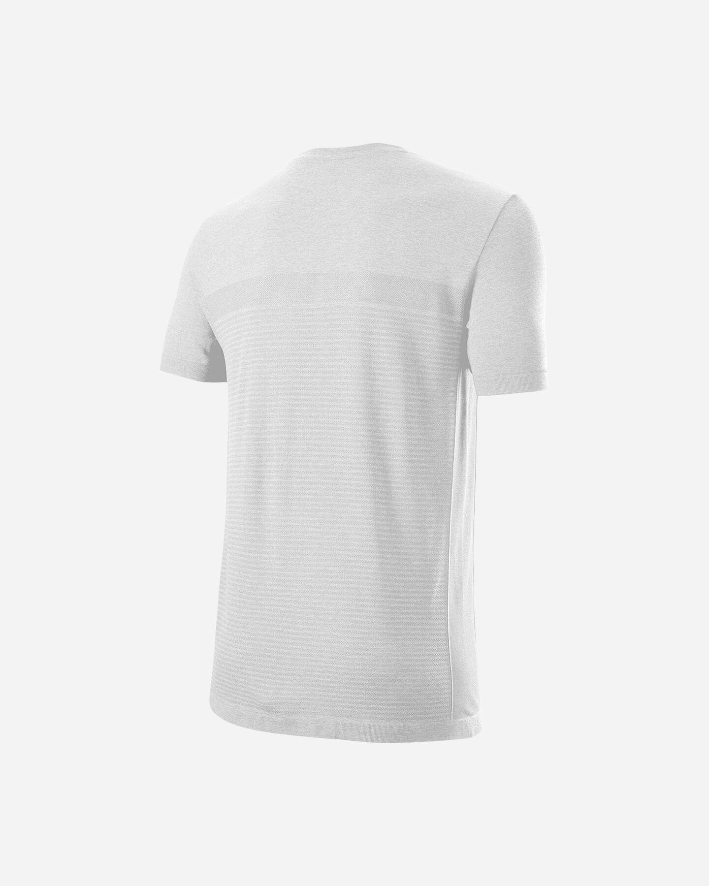 T-Shirt tennis WILSON BELA CREW M S5294965 scatto 1