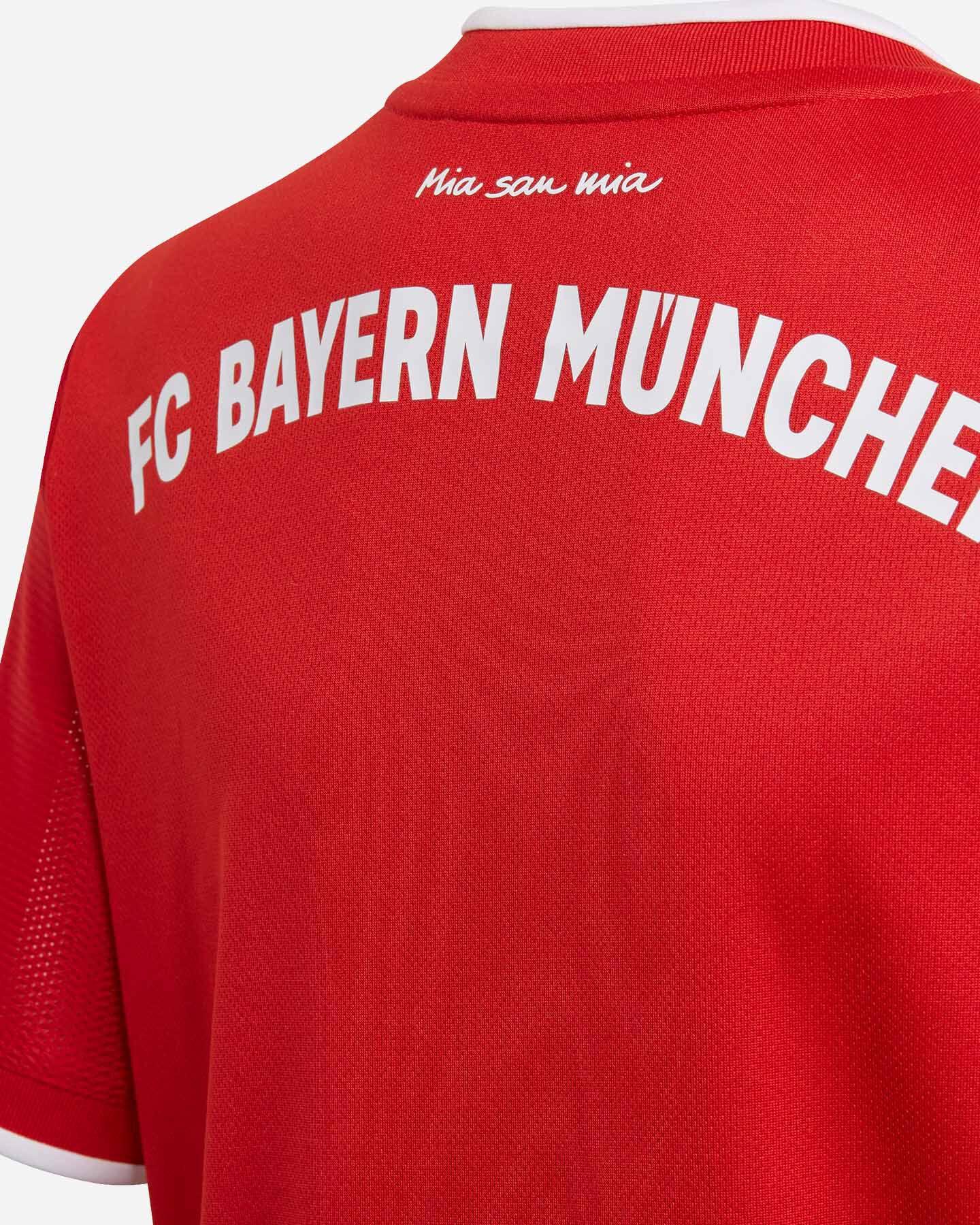 Maglia Calcio Adidas Bayern Monaco Home 20-21 Jr FI6201 | Cisalfa ...