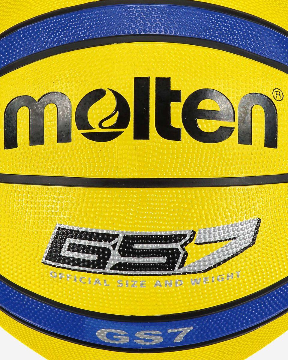 Pallone basket MOLTEN BASKET S4071273 YB SZ.7 scatto 1