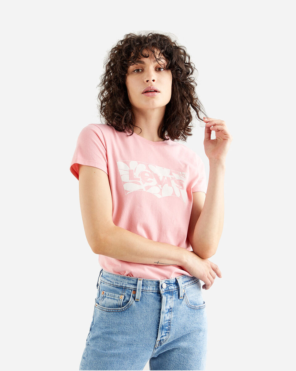 T-Shirt LEVI'S LOGO BATWING ST LEAF W S4088772 scatto 0