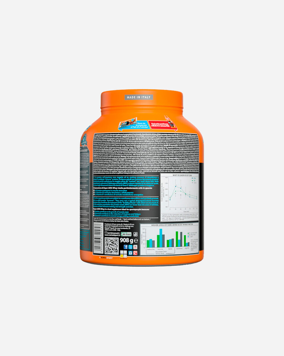 Energetico NAMED SPORT SUPER 100% WHEY 908G S1308870 scatto 2