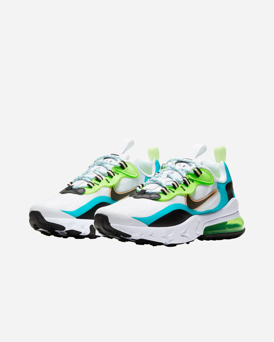 Scarpe sneakers NIKE AIR MAX 270 REACT SE JR GS S5194693 scatto 1