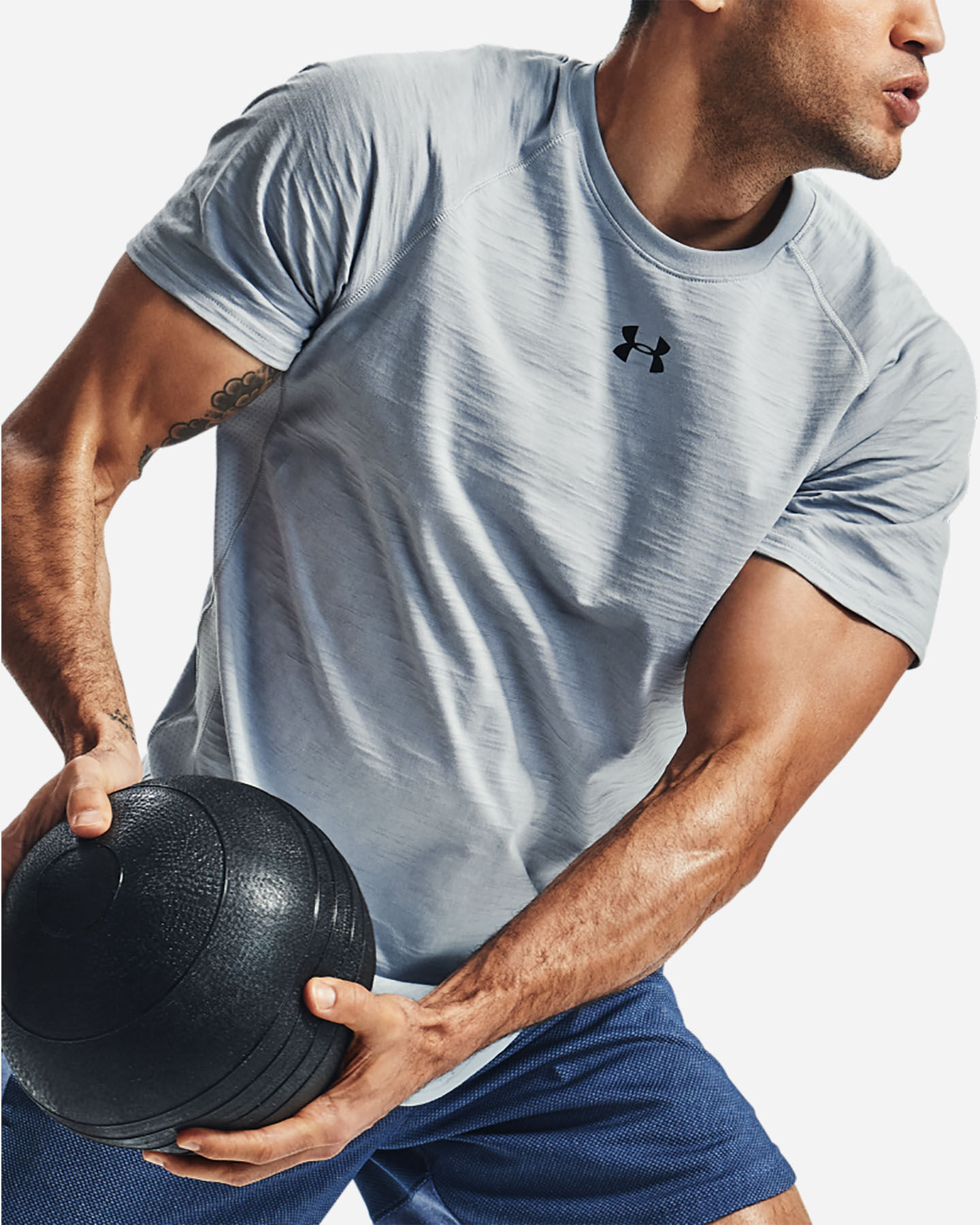 T-Shirt training UNDER ARMOUR CHARGED M S5169036 scatto 4