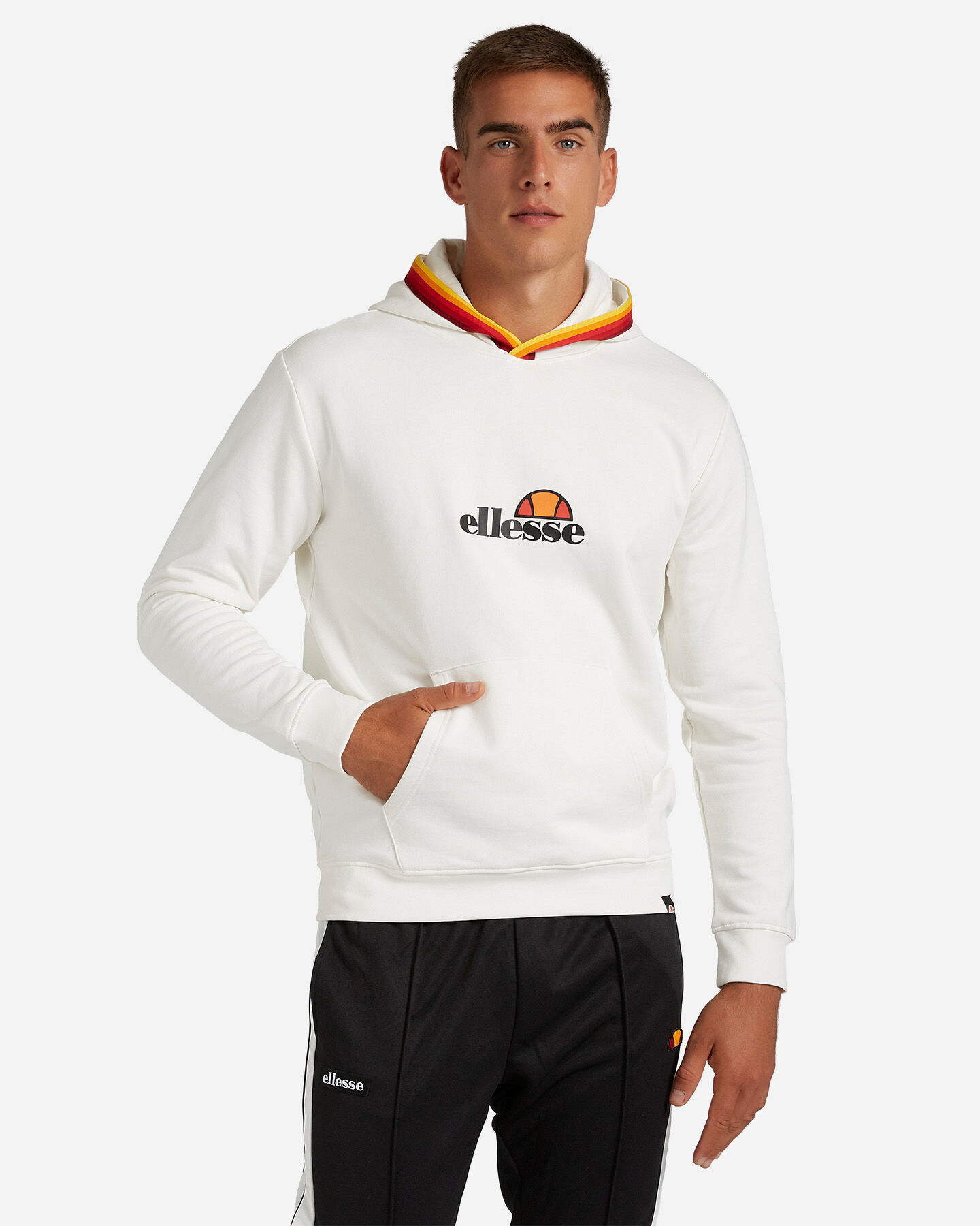 Felpa ELLESSE RAINBOW SMALL LOGO M S4081230 scatto 0