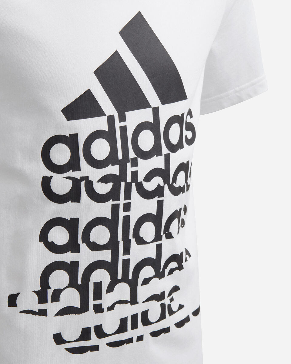 T-Shirt ADIDAS YOUNG BADGE OF SPORT JR S5211338 scatto 2