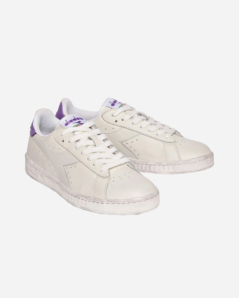 Scarpe sneakers DIADORA GAME L LOW WAXED W S5171105 scatto 1
