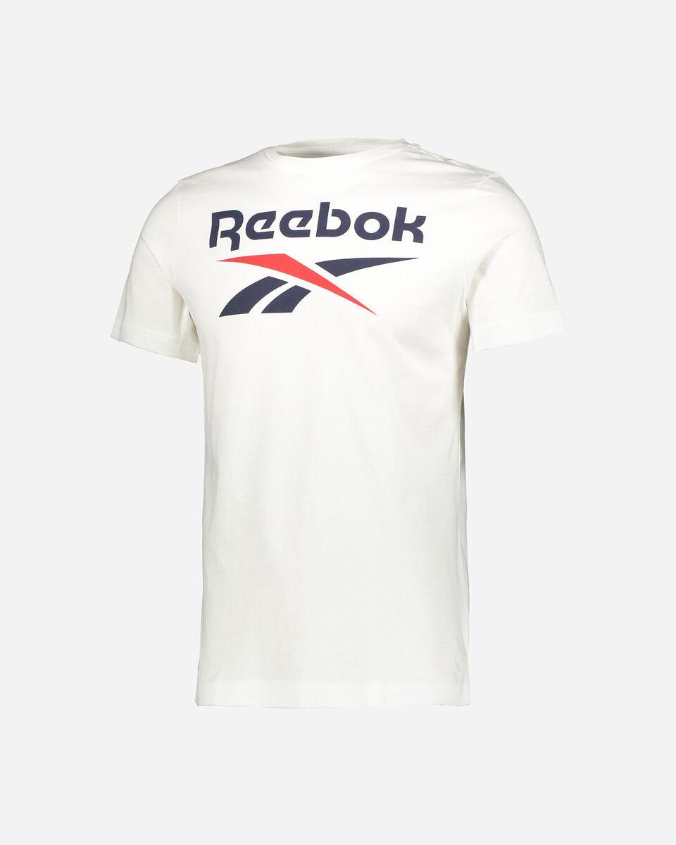 T-Shirt REEBOK CLASSIC LOGO M S5280183 scatto 0