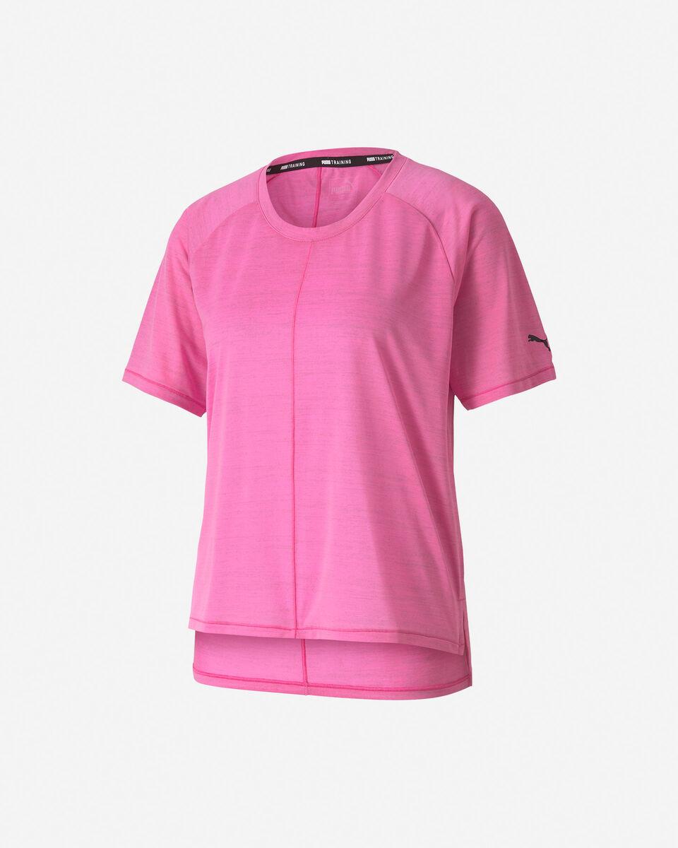T-Shirt training PUMA DRIFIT LOGO W S5234838 scatto 0