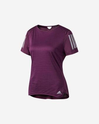 T-Shirt running ADIDAS RESPONSE TEE W