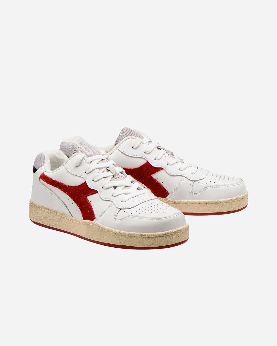 Scarpe sneakers DIADORA MI BASKET LOW USED M S5226859 scatto 1