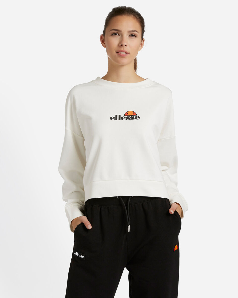 Felpa ELLESSE CROP W S4081240 scatto 0