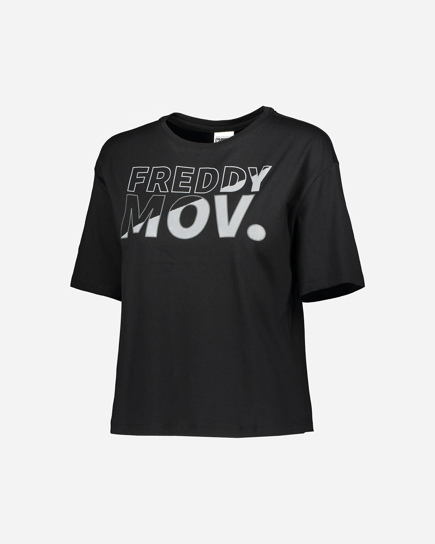 T-Shirt training FREDDY BIG LOGO MOV W S5183526 scatto 0