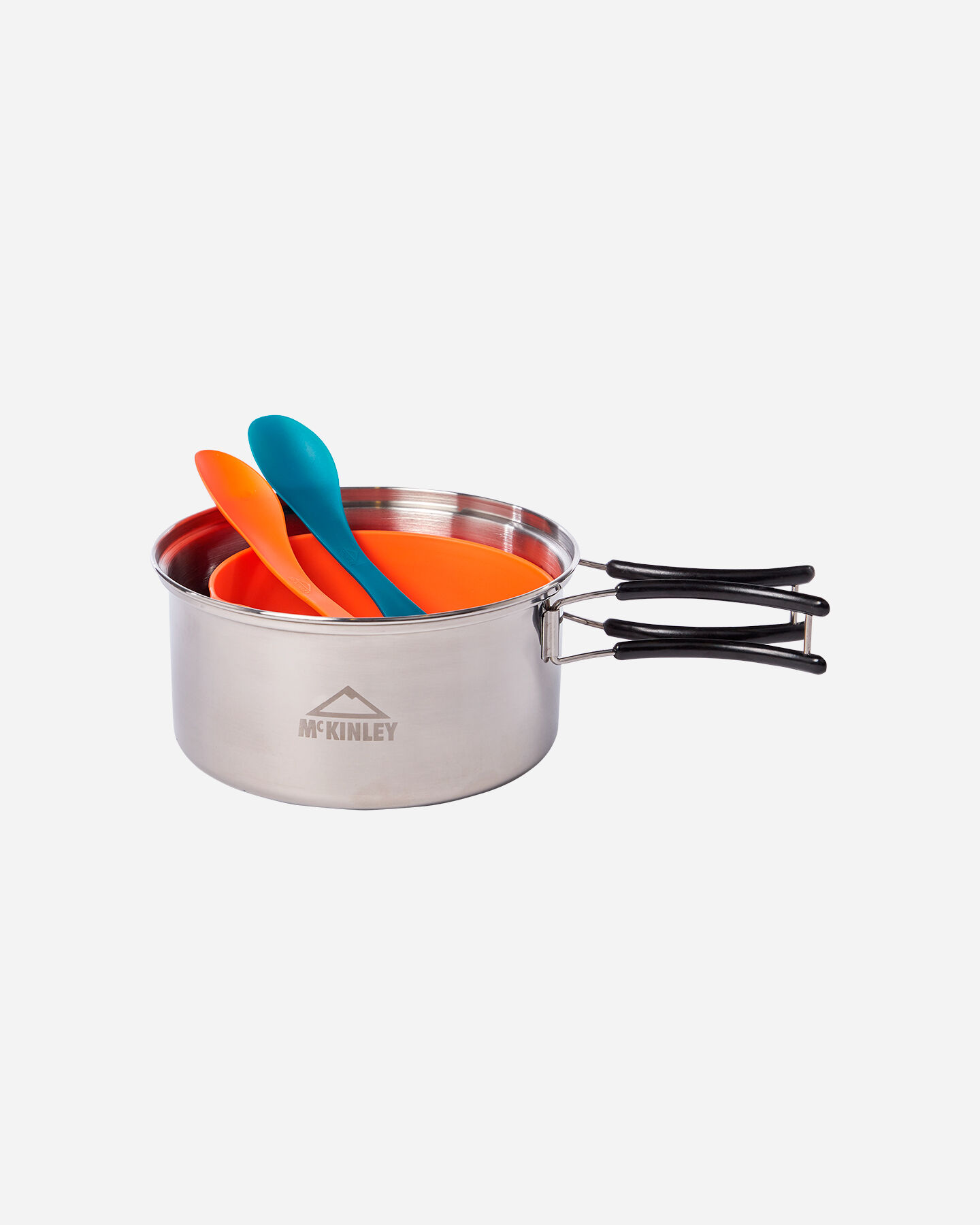Accessorio camping MCKINLEY COOKING SET STAINLESS STEEL 2P S5190617 900 - scatto 1