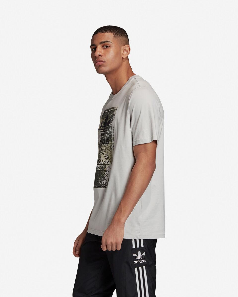 T-Shirt ADIDAS CAMO TONGUE M S5210682 scatto 3