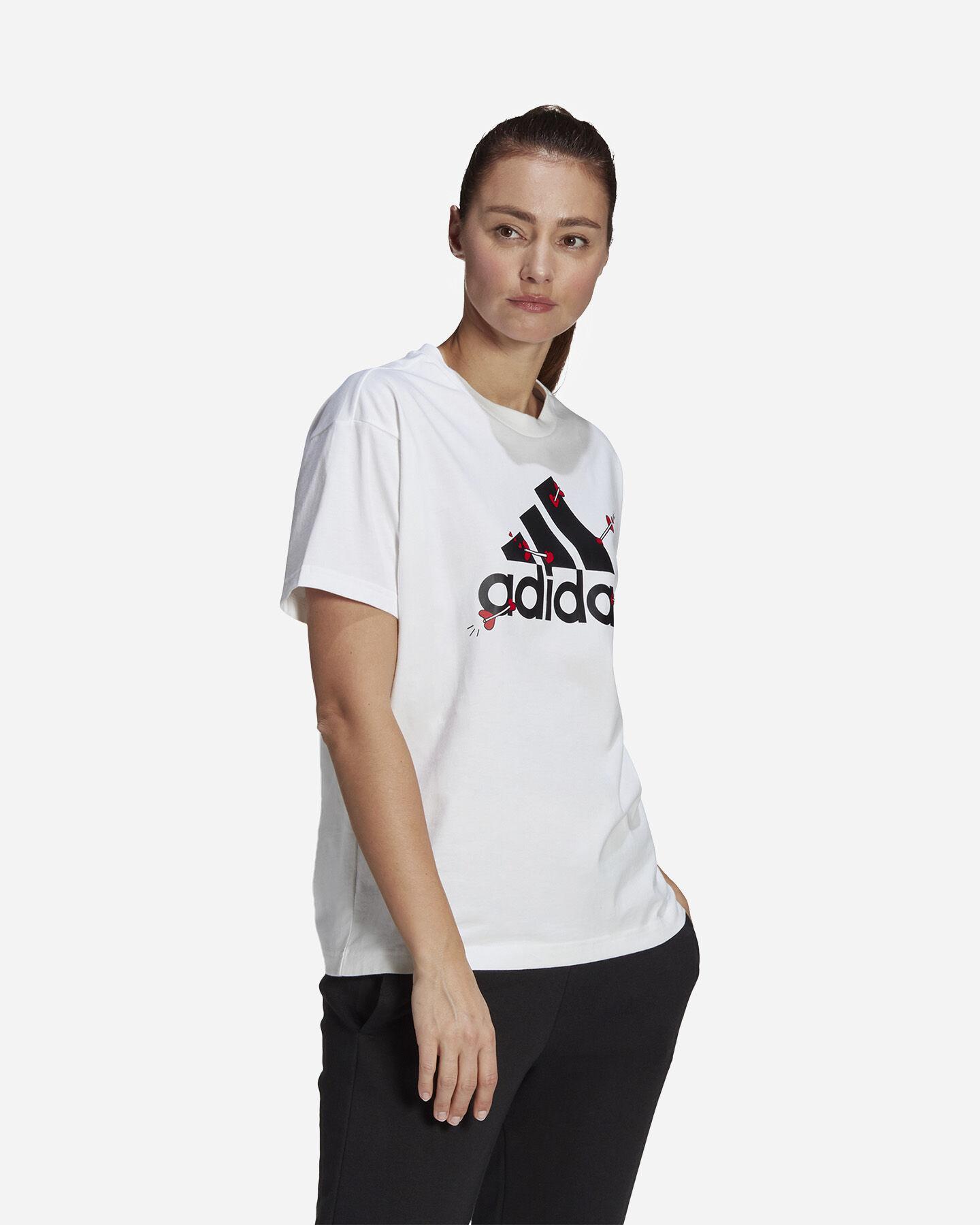 T-Shirt ADIDAS VALENTINE W S5274725 scatto 3