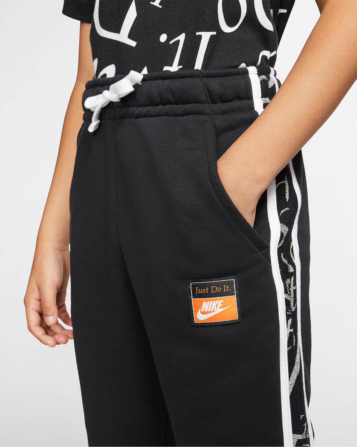 Pantalone NIKE LETTER JR S5164571 scatto 4