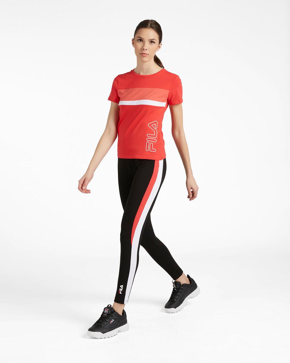 T-Shirt FILA REGULAR COLOR BLOCK W S4089715 scatto 3