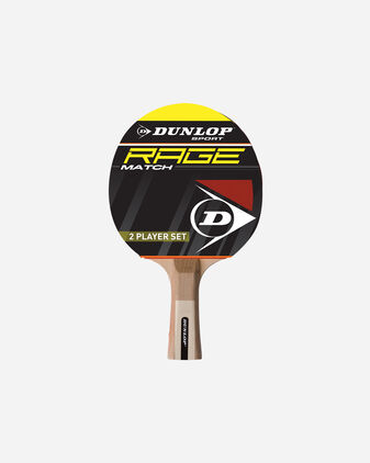Accessorio ping pong DUNLOP SET RAGE 2 PLAYER