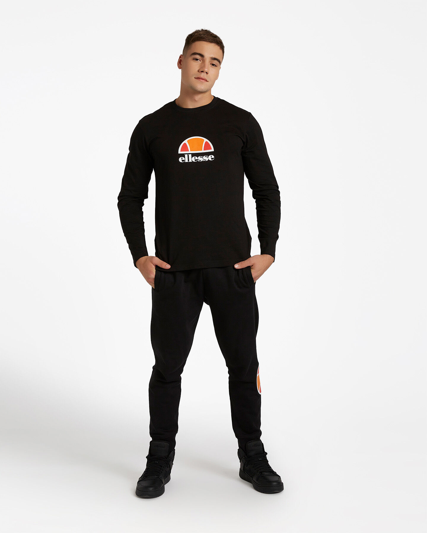 T-Shirt ELLESSE ML SMALL LOGO M S4081214 scatto 1