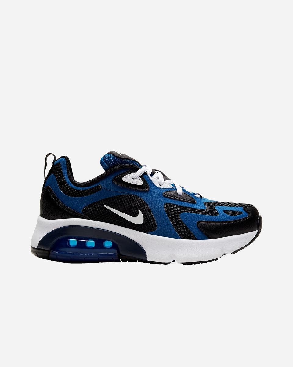 Scarpe sneakers NIKE AIR MAX 200 GS JR S5161546 scatto 0