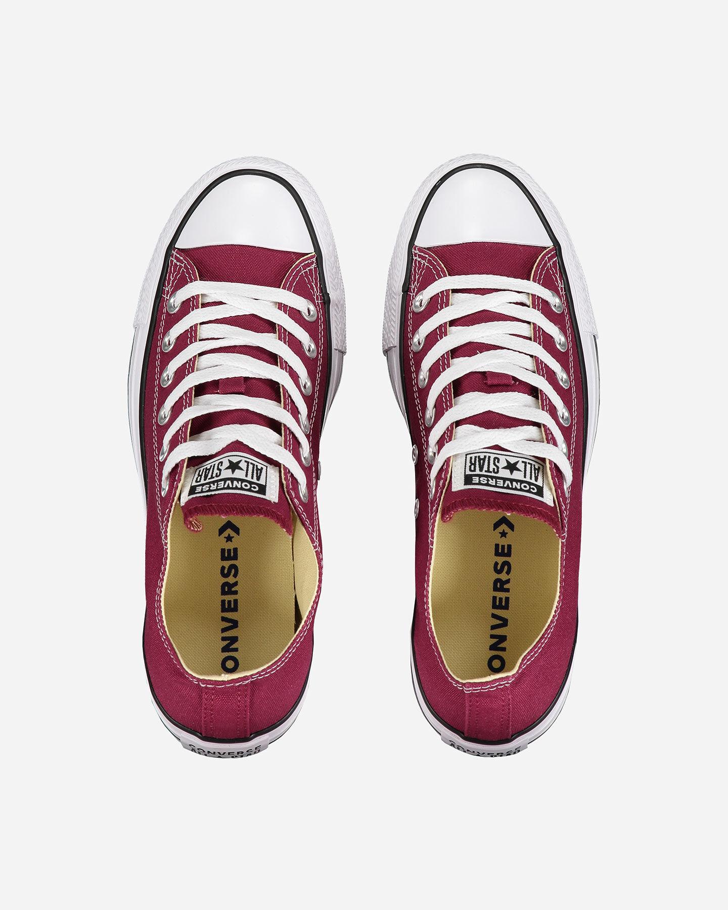 Scarpe sneakers CONVERSE CHUCK TAYLOR ALL STAR OX M S0680505 scatto 3