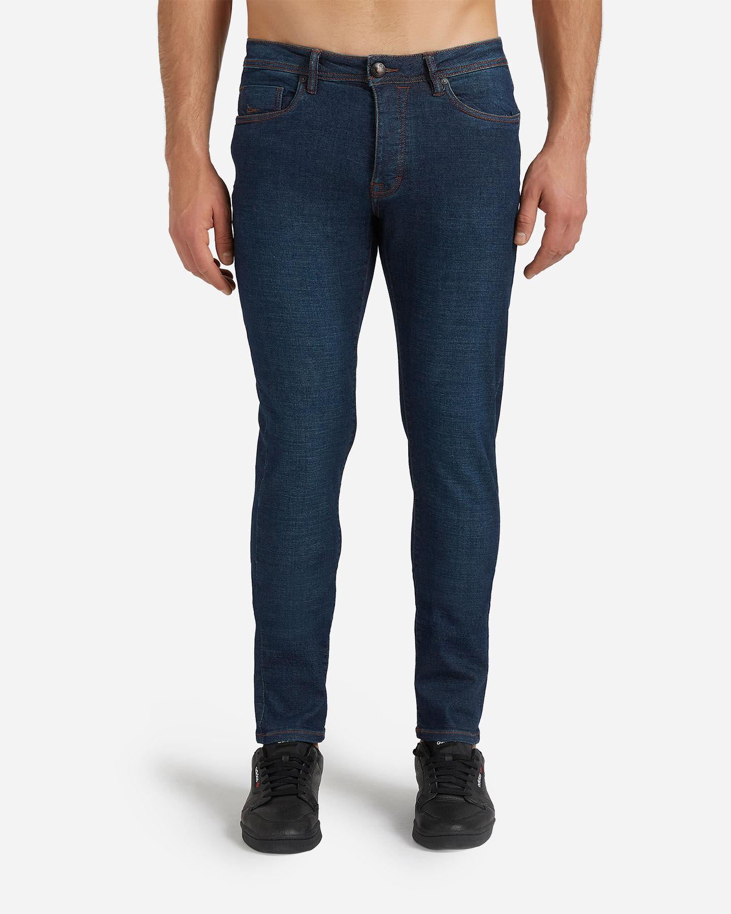 Jeans COTTON BELT 5TS SLIM M S4076650 scatto 0