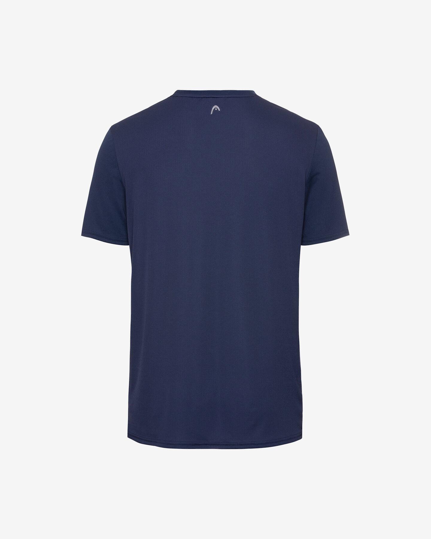 T-Shirt tennis HEAD SLIDER M S5251655|DBRO|XXL scatto 1