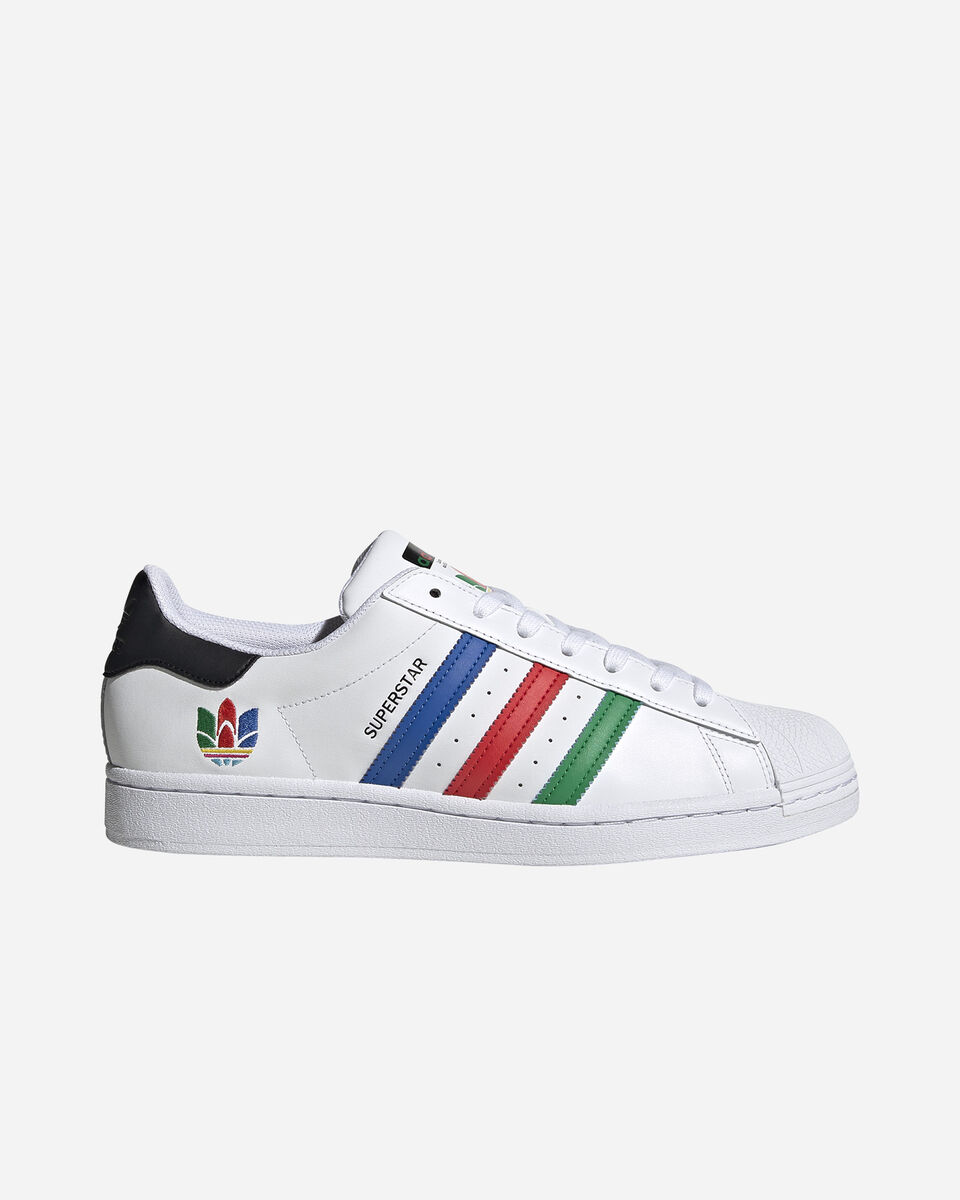Scarpe sneakers ADIDAS SUPERSTAR M S5208669 scatto 0
