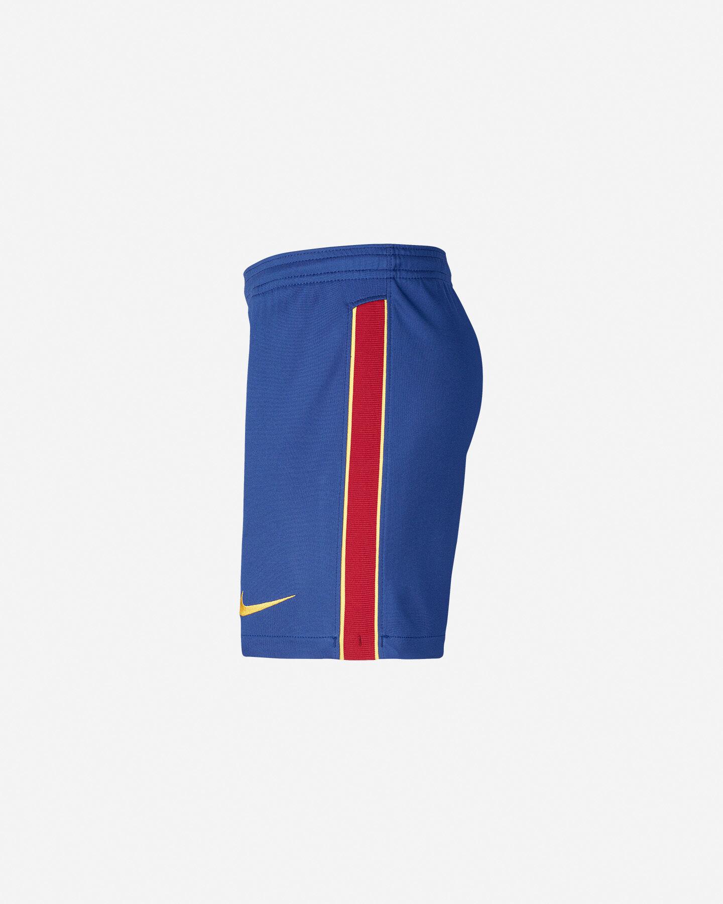 Pantaloncini calcio NIKE BARCELLONA HOME STADIUM 20/21 JR S5195472 scatto 1