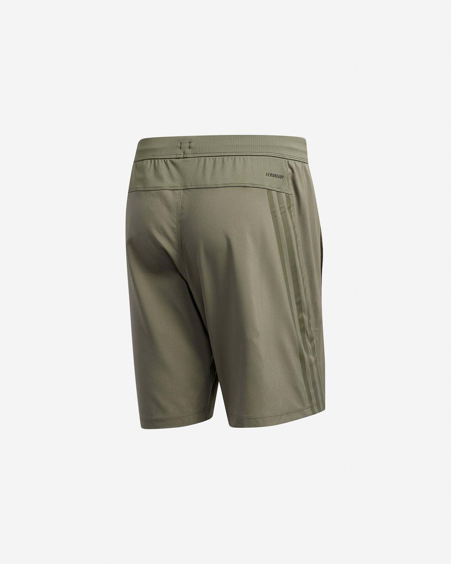 Pantalone training ADIDAS AEROREADY 3-STRIPES 8-INCH M S5154649 scatto 1