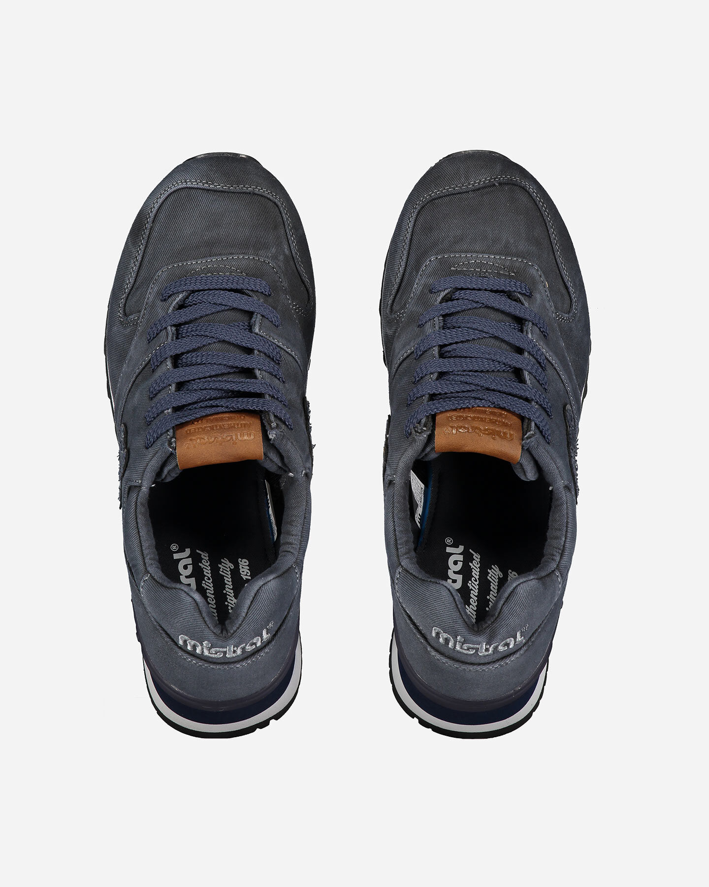 Scarpe sneakers MISTRAL SEVENTIES DENIM M S4089425 scatto 3