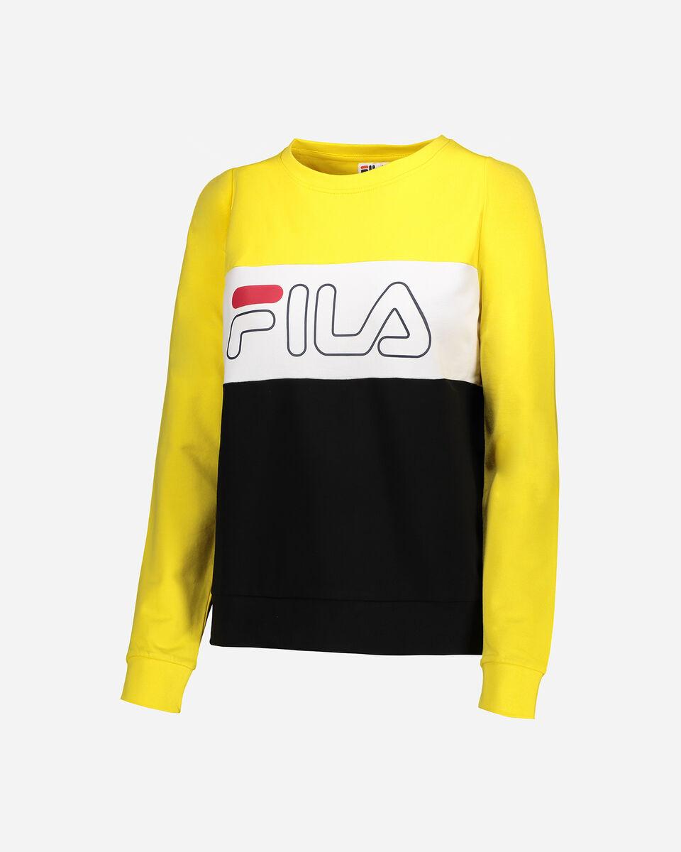 Felpa FILA COLOR BLOCK W S4067222 scatto 5