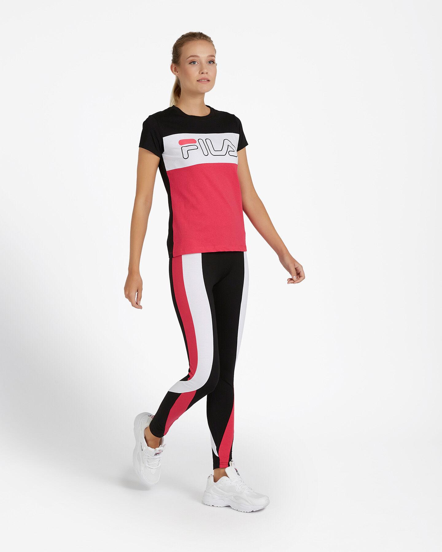 T-Shirt FILA REGULAR COLOR BLOCK W S4080534 scatto 3