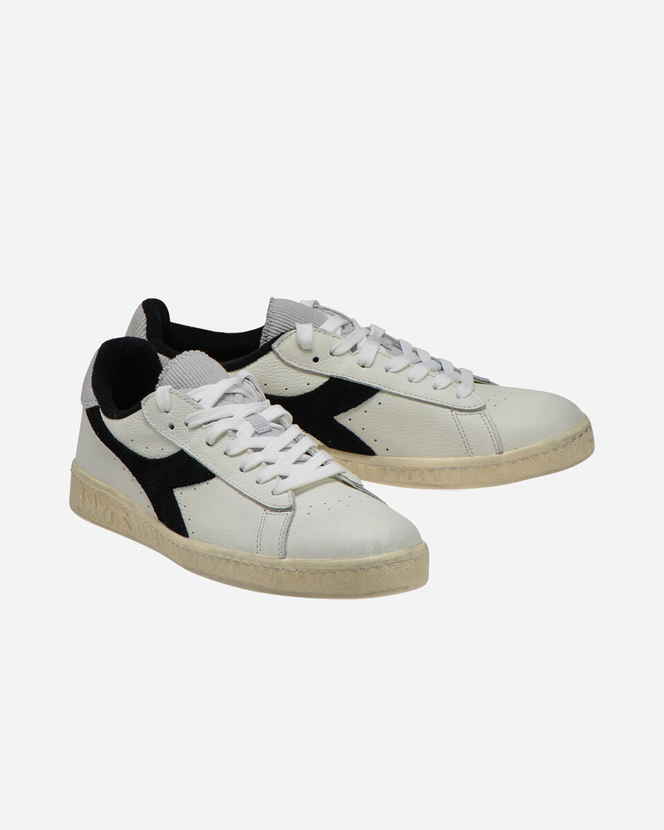 Scarpe sneakers DIADORA GAME L LOW USED M S5083816 scatto 1